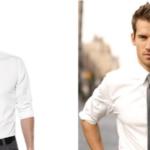 Kết hợp áo sơ mi trắng và dây lưng nam da bò?