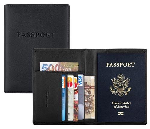 ví đựng passport làm quà tặng cho doanh nghiệp