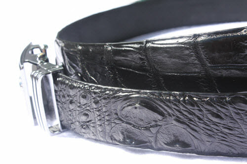 dây lưng da cá sấu không nối cao cấp ngọc quang