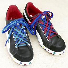 cách buộc dây giày