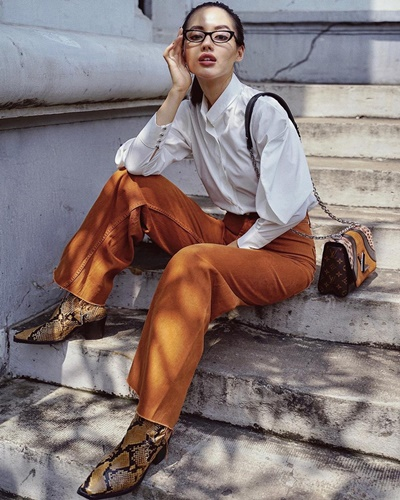 giày boot nữ mặc với đồ gì