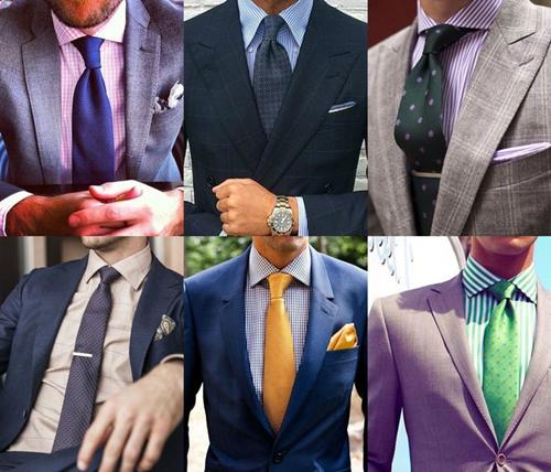 cách chọn cà vạt