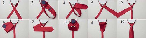 cách thắt cà vạt bản nhỏ