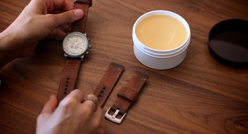 dây da đồng hồ