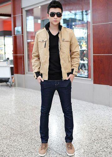 áo khoác nam kaki