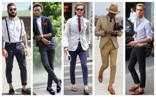 cách mặc quần tây nam đẹp