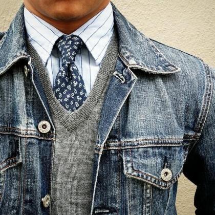 áo khoác jean