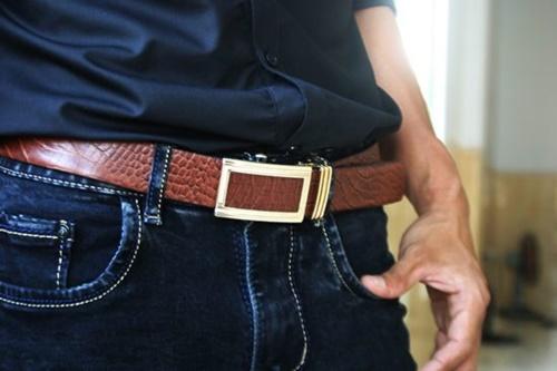 thắt lưng quần jean nam