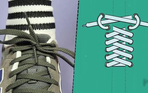 cách cột dây giày