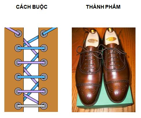Cách buộc dây giày đẹp