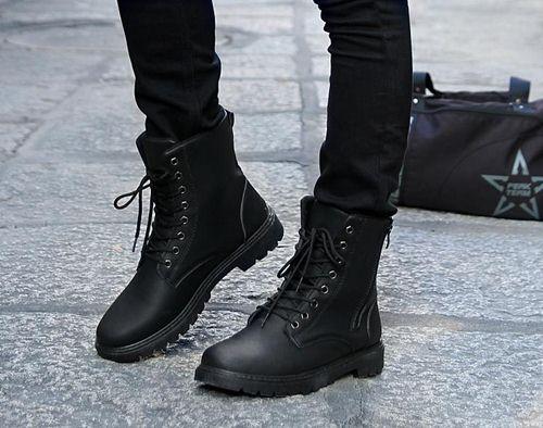 Giay boot nam
