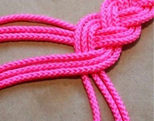 cách thắt dây lưng bằng vải