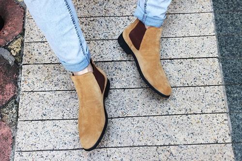 giày cổ lửng nam