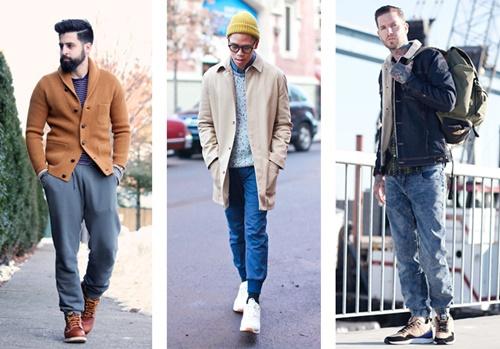 chọn giày phù hợp với quần jean
