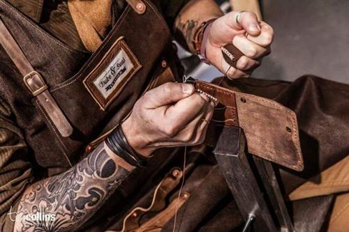 dụng cụ làm ví da handmade
