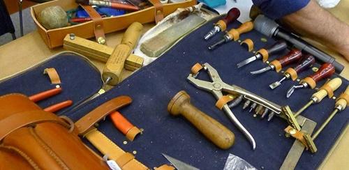 dụng cụ làm đồ da handmade tphcm
