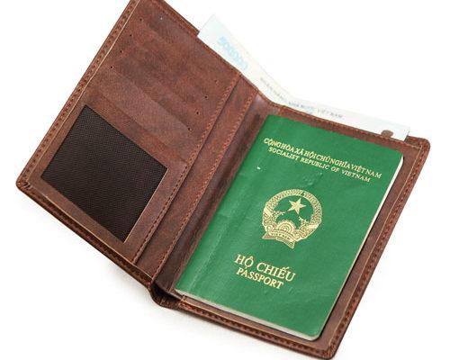 bao đựng hộ chiếu
