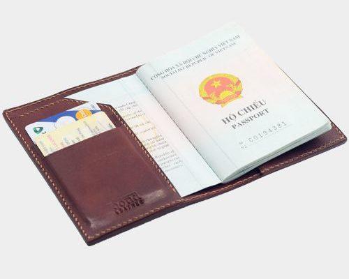 bao đựng hộ chiếu handmade