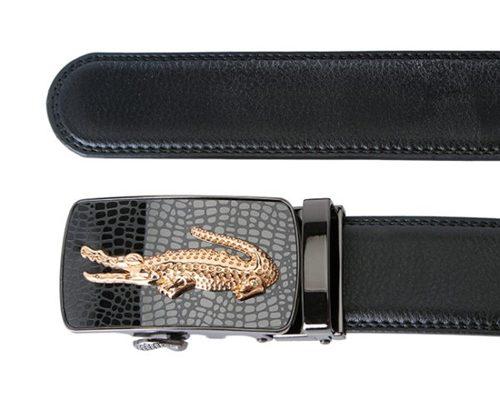 Thắt lưng nam da cá sấu