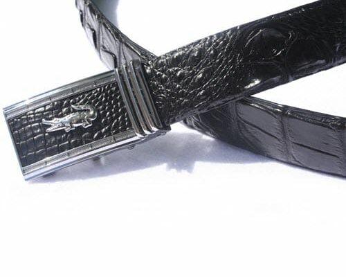 thắt lưng da cá sấu