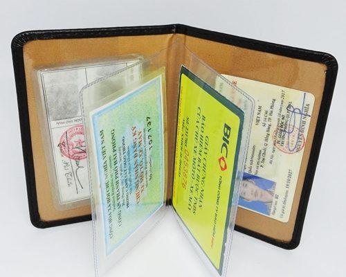 ví đựng giấy tờ cá nhân