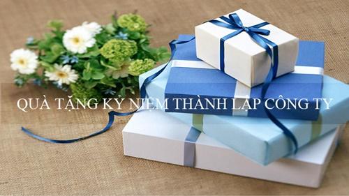 quà tặng kỷ niệm thành lập công ty
