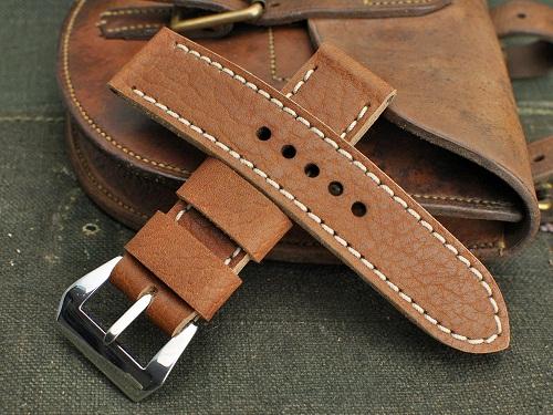 dây da đồng hồ handmade
