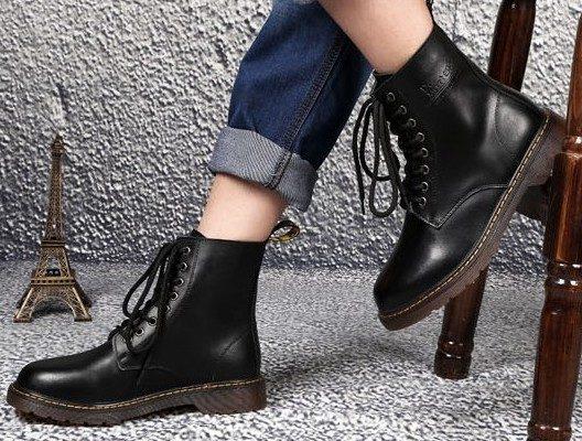 giày da cao cổ