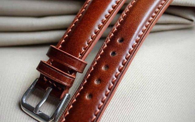 dây da đồng hồ Handmade HCM