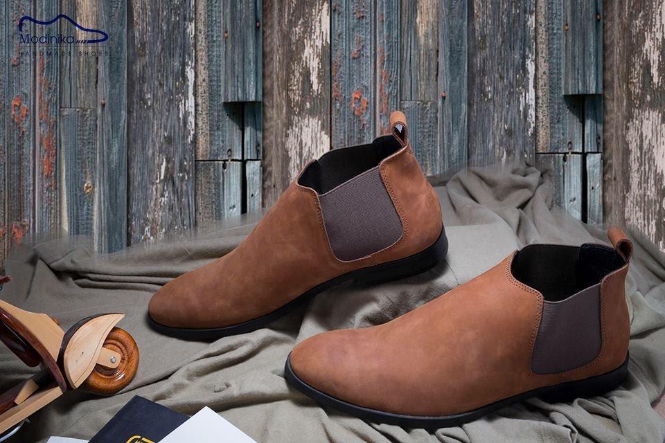 bộ sưu tập giày cổ cao nam