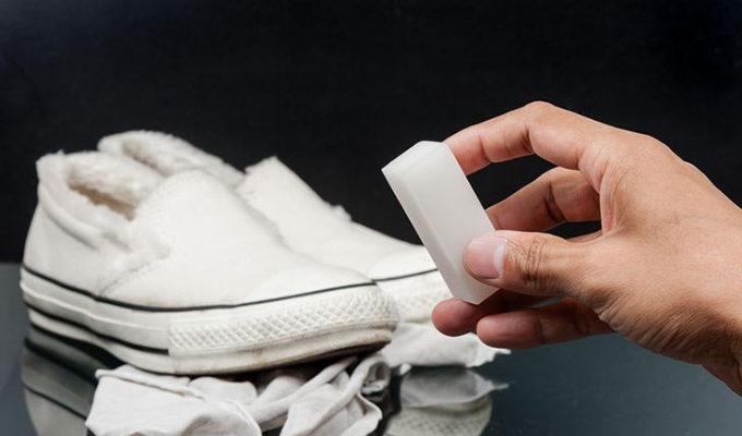 làm sạch giày