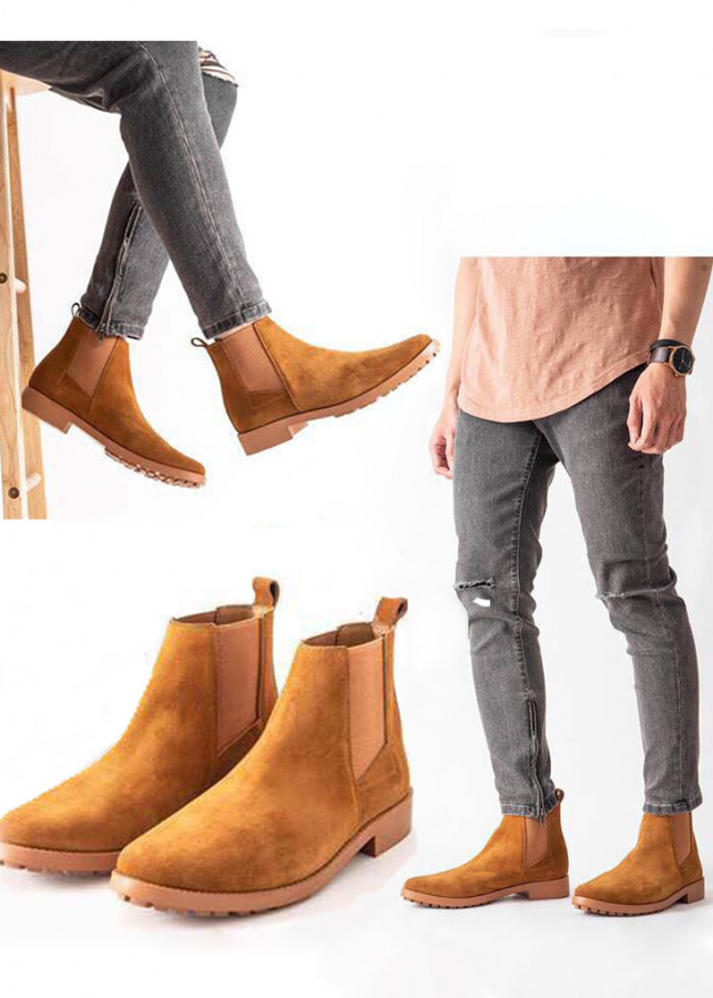 giay chelsea boots nam