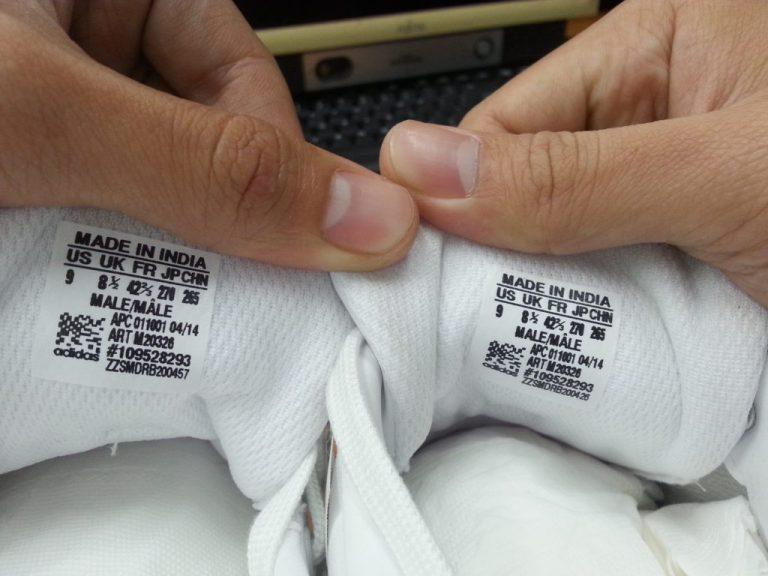check code giay adidas