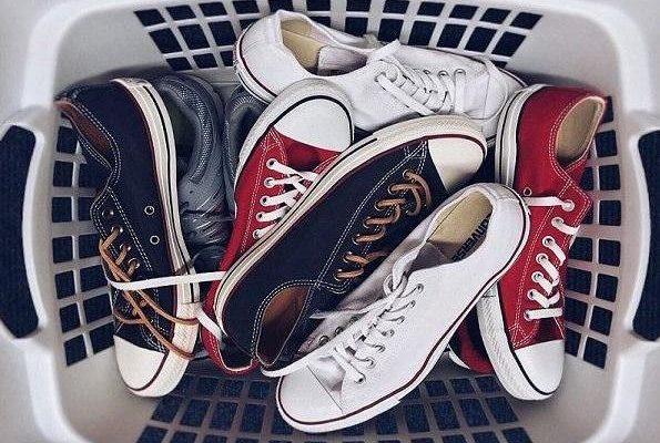 cách giặt giày trắng