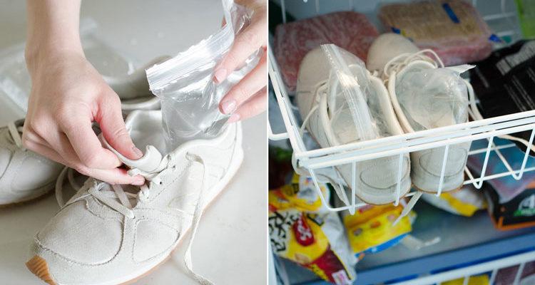 cách nới rộng giày