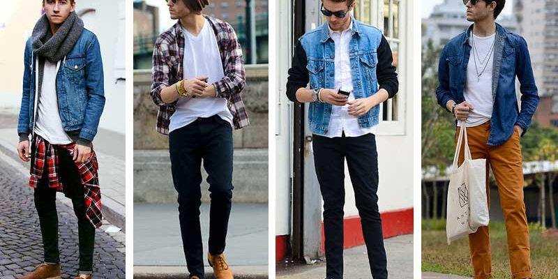 cách phối màu quần áo với giày cho nam