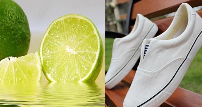 cách tẩy trắng giày