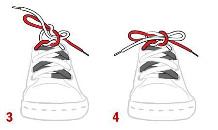 cách thắt nơ giày