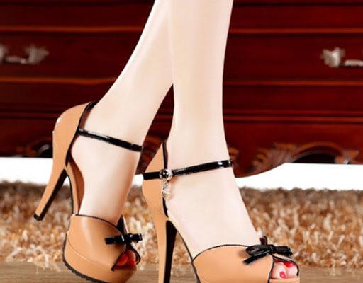 Giày cao gót hở mũi cực xinh