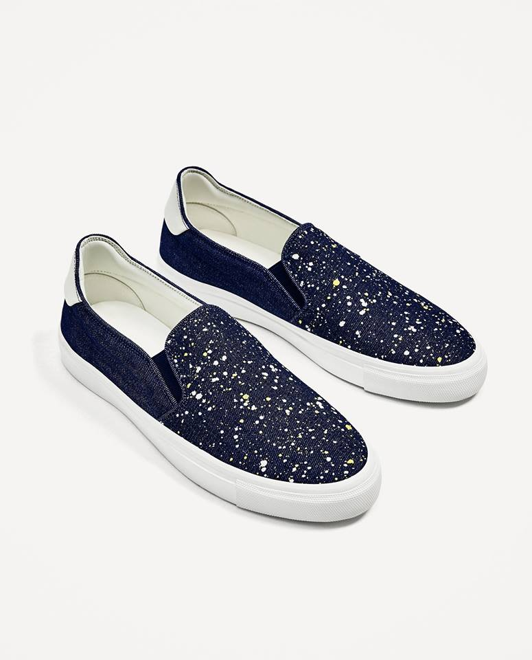 Slip on zara man