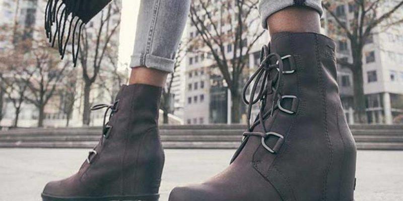 giày da cao cổ nam