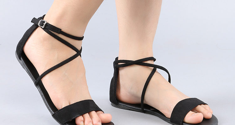 giày Sandal đế bệt