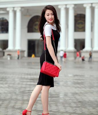 mặc gì với đôi giày đỏ