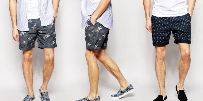 mặc quần short mang giày gì