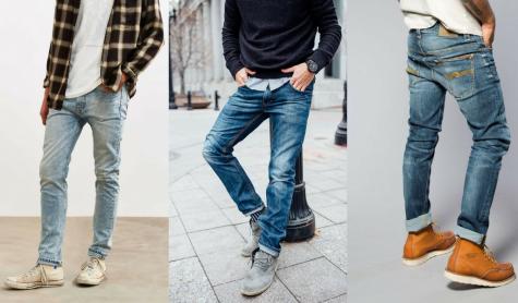 8 lưu ý khi chọn mua quần jeans nam