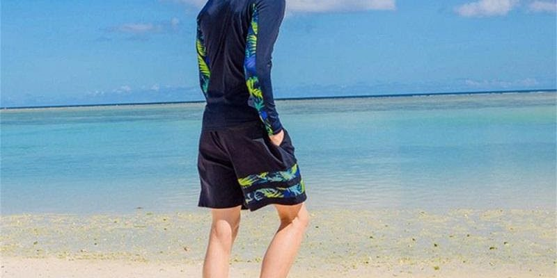 Trang phục đi biển cho nam không thể chối từ