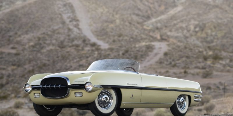 1954 Dodge Firearrow II của Ghia