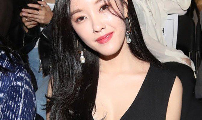 Ngắm sao hàn Mặc đẹp tại tuần lễ thời trang Seoul 2019