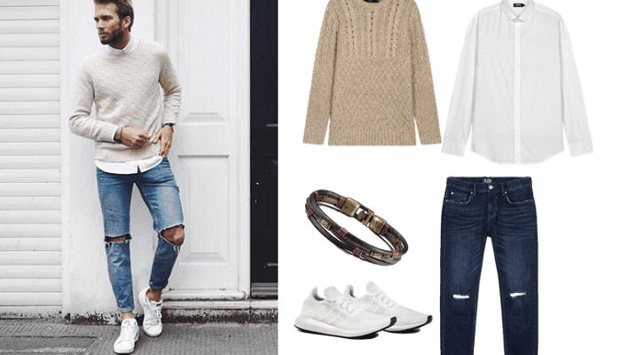 4 cách phối đồ với giày thể thao trắng cực phong cách