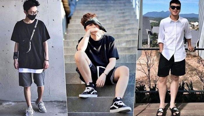 Mặc quần short mang giày gì đẹp và phong cách nhất?